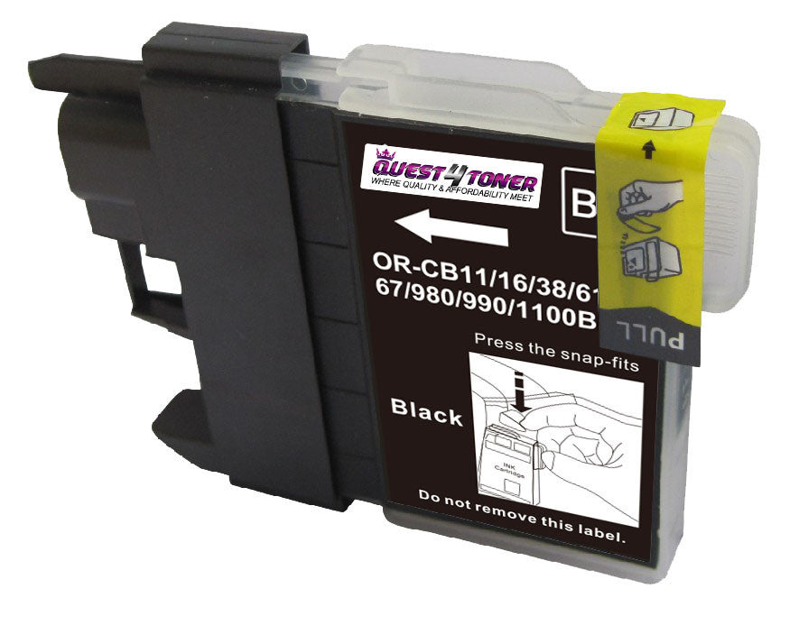 Compatible Brother LC 61 Black -Ink