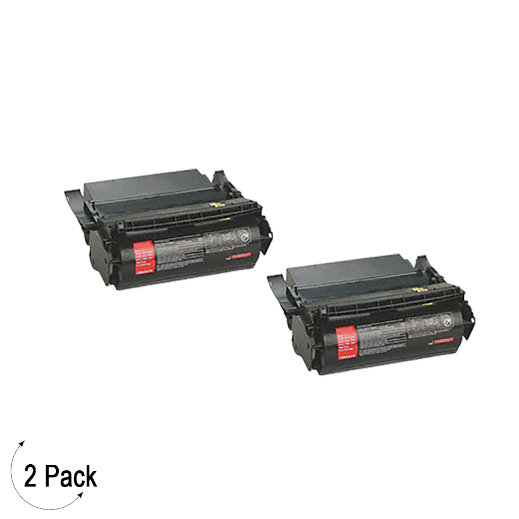 Compatible Lexmark S17 Black -Toner 2 Pack (1382925)