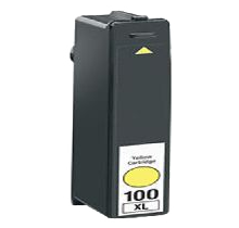 Compatible Lexmark 100XL Yellow -Ink  (100XLY)