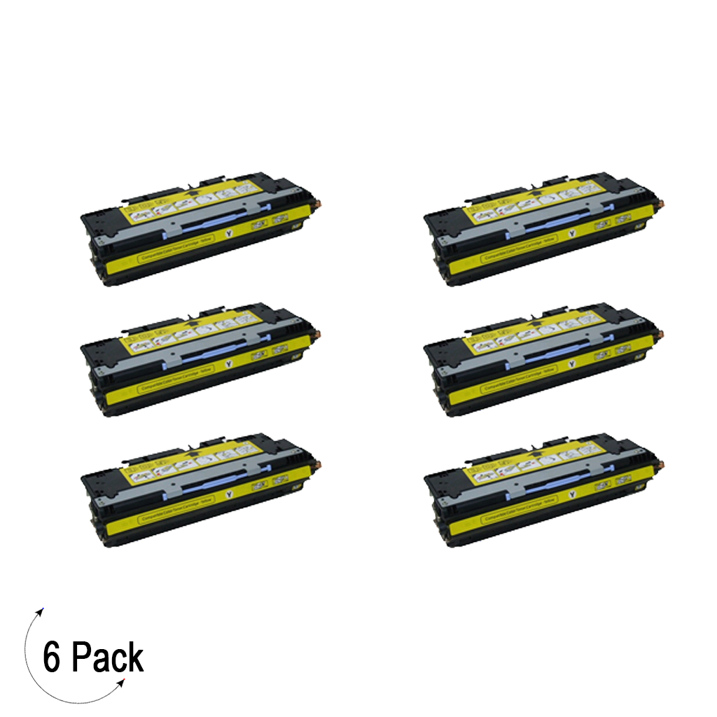 Compatible HP 309A Yellow -Toner 6 Pack (Q2672A)