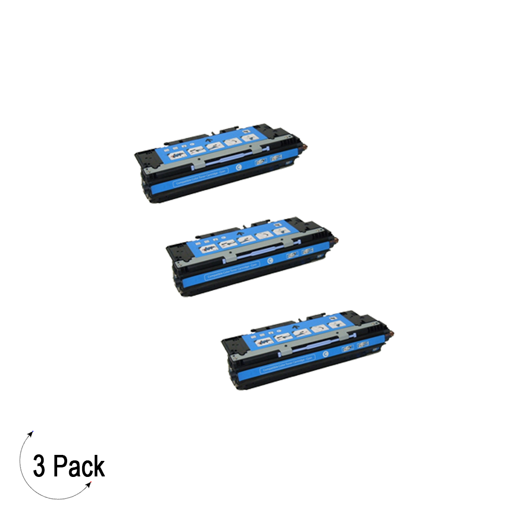 Compatible HP 503A Cyan -Toner 3 Pack (Q7581A)