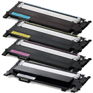 Compatible Samsung 406 set BK/C/M/Y -Toner  (406-set)