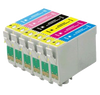 Compatible Epson T078 BK/C/M/Y -Ink  6 Pack
