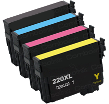 Compatible Epson T220XL BK/C/M/Y -Ink  Single pack