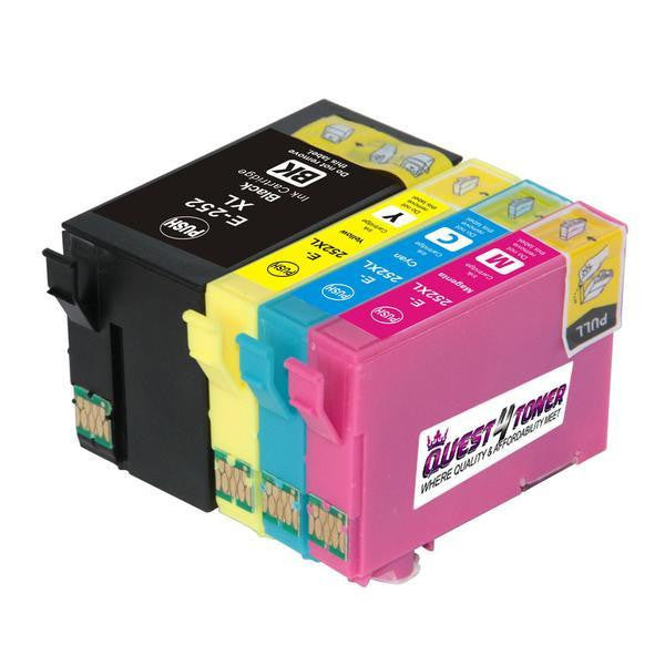 Compatible Epson T252XL BK/C/M/Y -Ink  Combo Pack