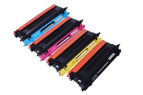 Compatible Brother TN-115 Set (Black/Cyan/Magenta/Yellow)  Toner