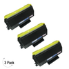Compatible Brother TN-650 Toner 3 Pack