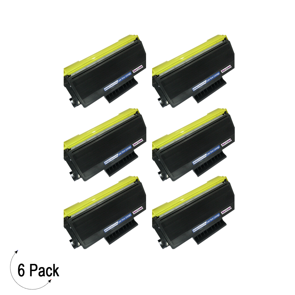 Compatible Brother TN-650 Toner 6 Pack