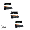 Compatible Brother TN-660 / DR-630 Toner & Drum Combo 3 Pack