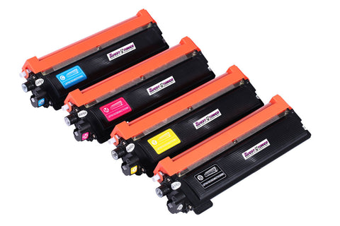 Compatible Brother TN-210 Set (Black/Cyan/Magenta/Yellow) -Toner