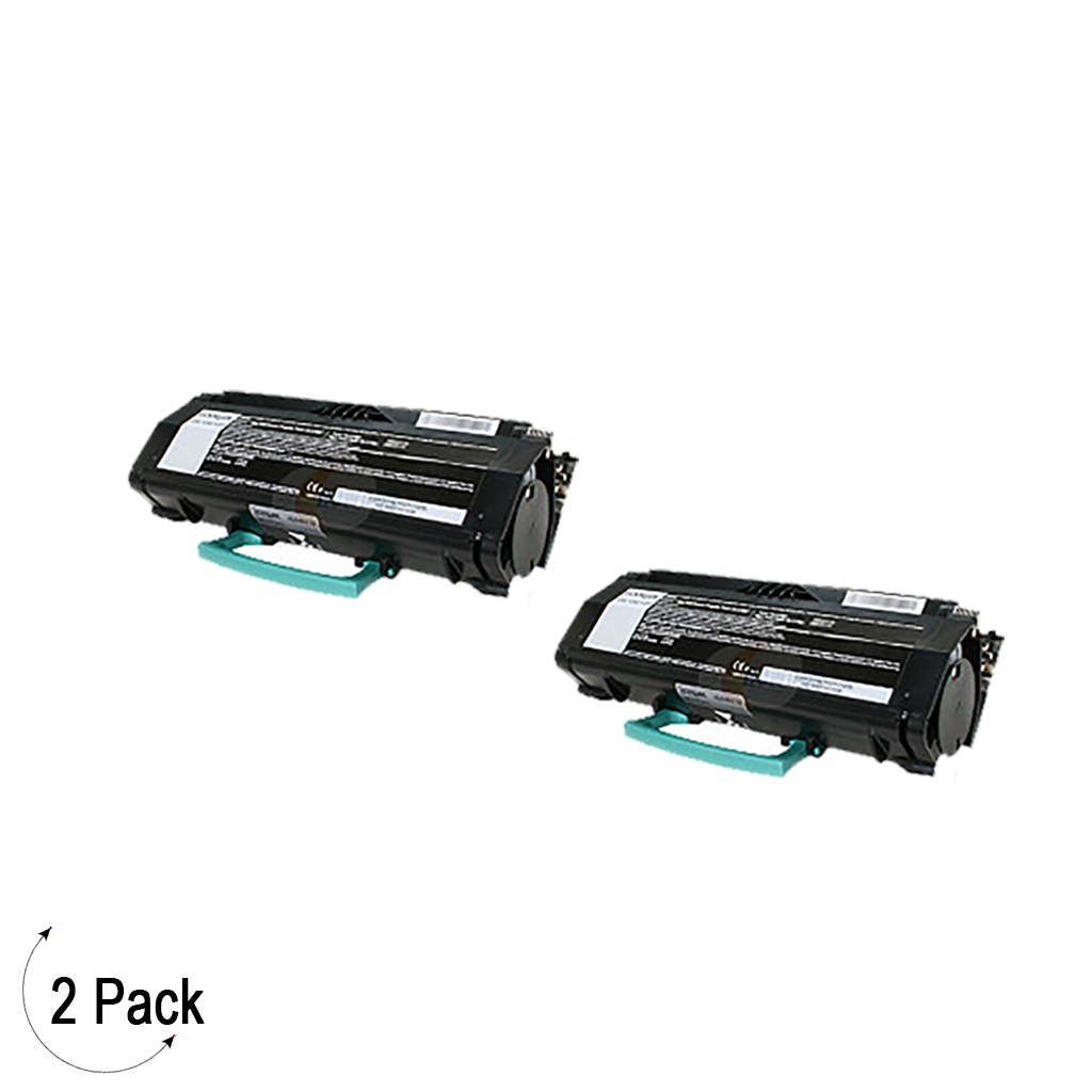 Compatible Lexmark X264 X36X Black -Toner 2 Pack (X264A11G)