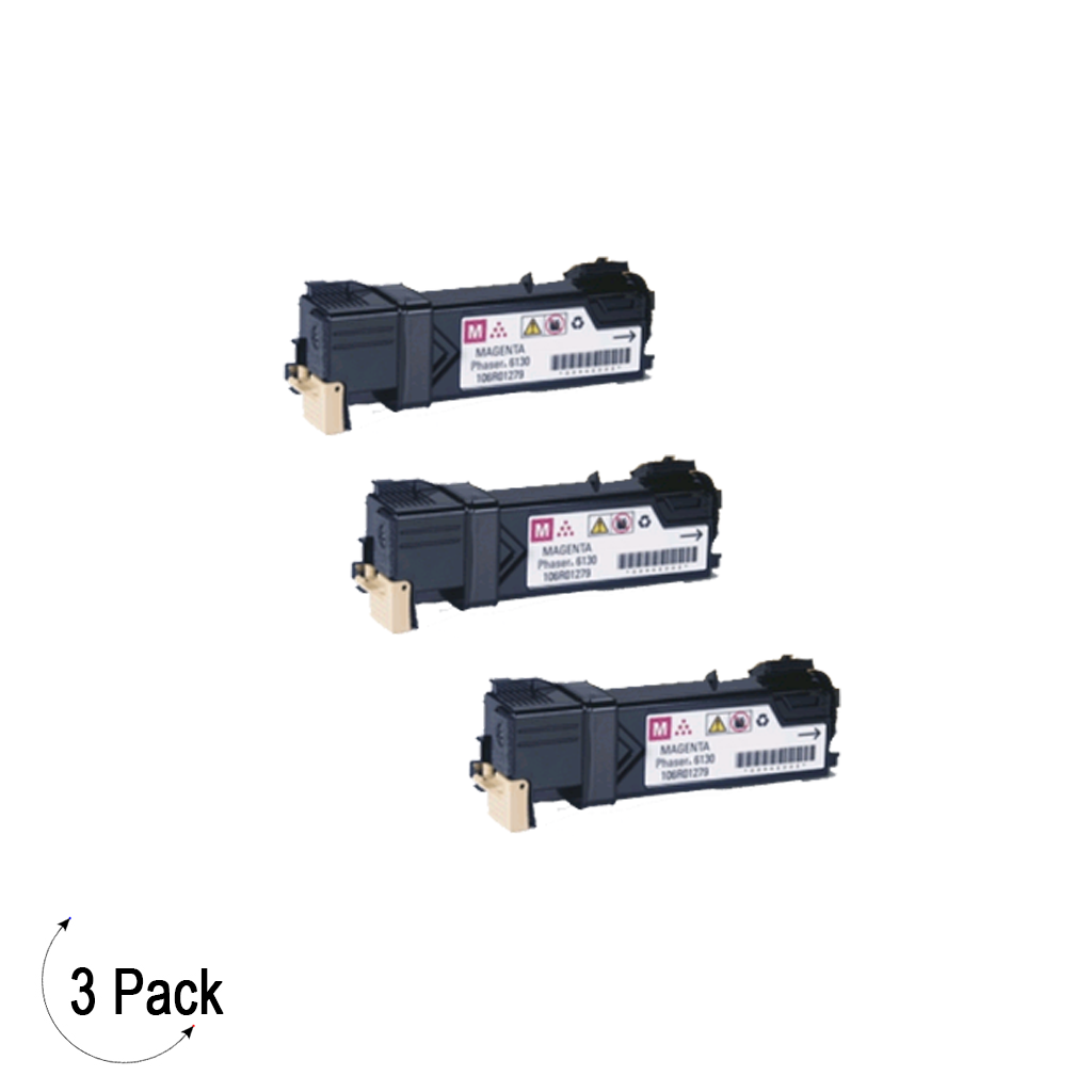 Compatible Xerox 106R01279 Magenta -Toner 3 Pack (106R01279)
