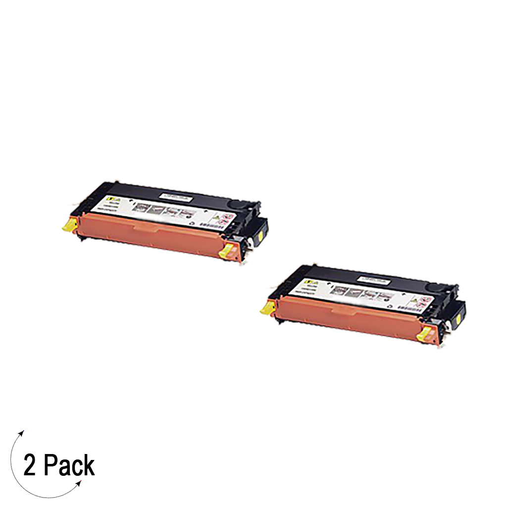 Compatible Xerox 106R01394 Yellow -Toner 2 Pack (106R01394)