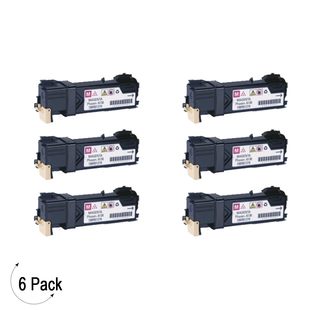 Compatible Xerox 106R01453 Magenta -Toner 6 Pack (106R01453)