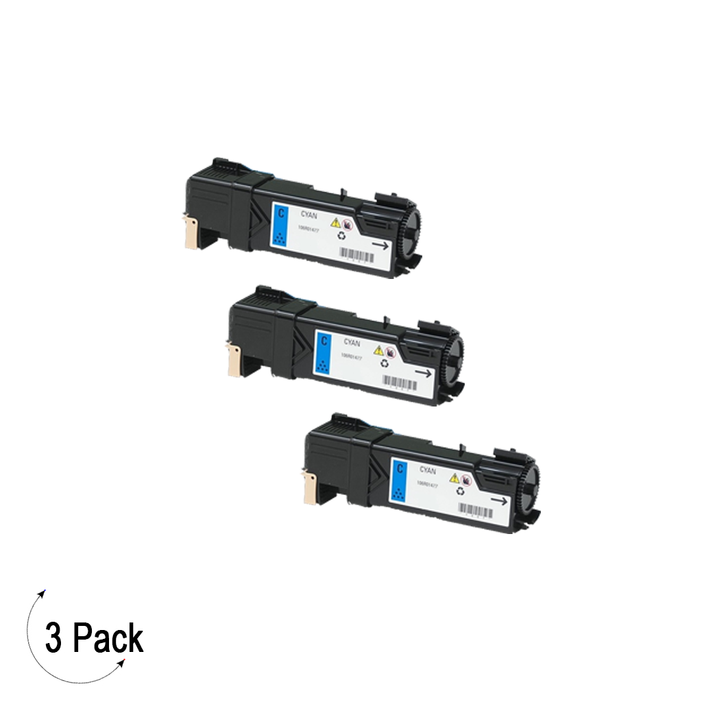Compatible Xerox 106R01477 Cyan -Toner 3 Pack (106R01477)