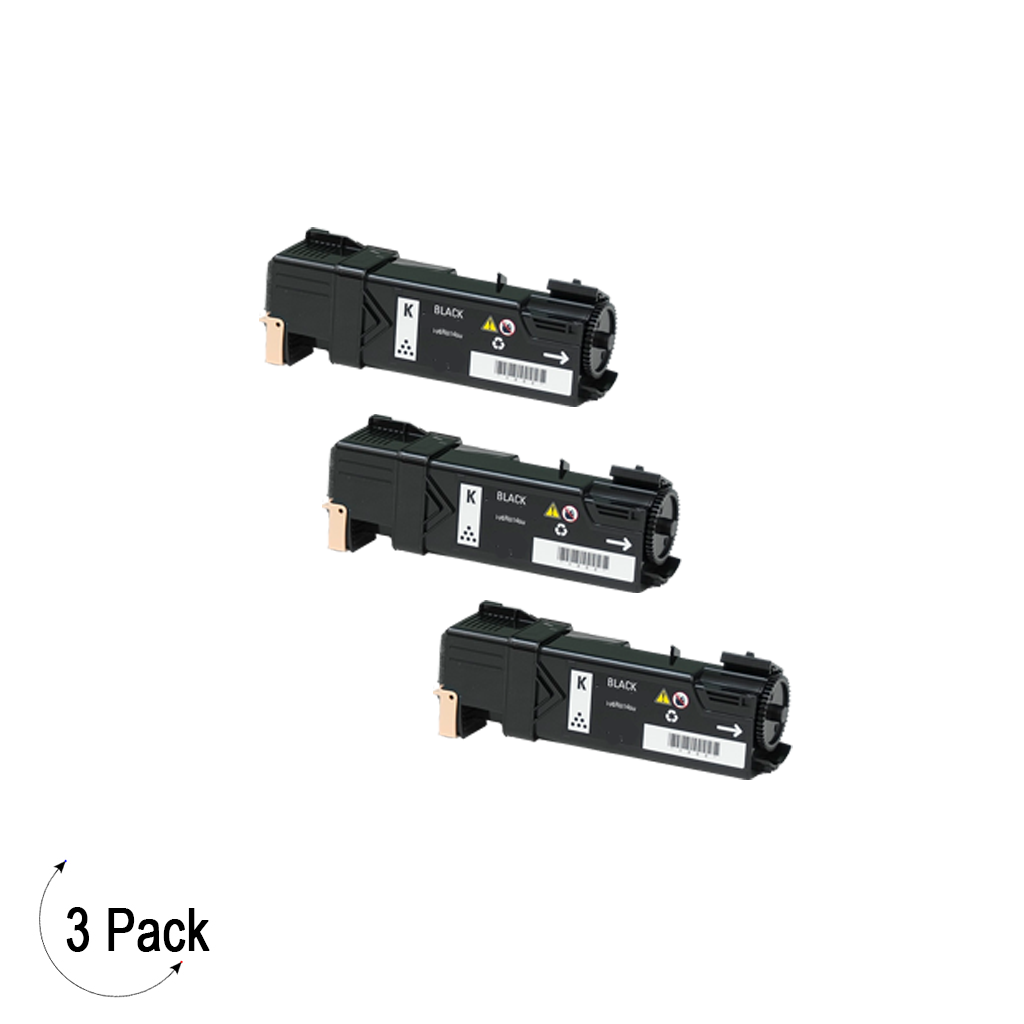 Compatible Xerox 106R01480 Black -Toner 3 Pack (106R01480)