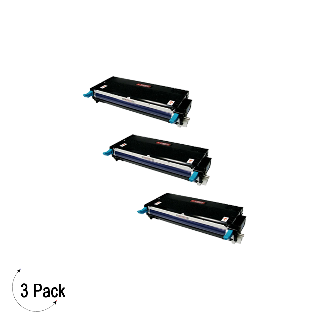 Compatible Xerox 113R00723 Cyan -Toner 3 Pack (113R00723)