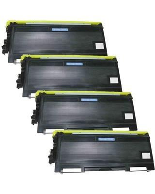 Compatible Brother TN-650 Toner 4 Pack