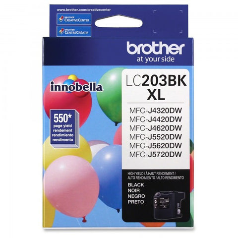 Brother LC 203 Black -original Ink
