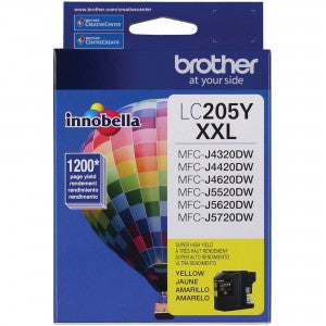 Brother LC 205 Yellow -original Ink