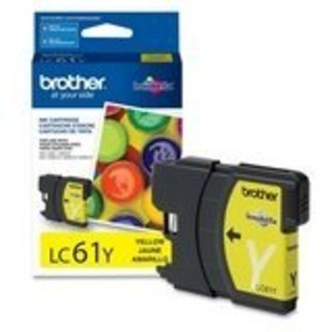 Brother LC 61Y Yellow -original Ink