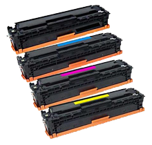 Compatible HP 410X SET (CF410X CF411X CF412X CF413X) High Yield  Toner Cartridges
