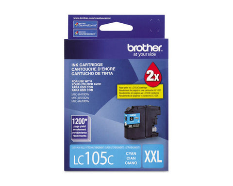 Brother LC 105 Cyan -original Ink