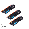 Compatible Brother TN 336 Cyan Toner 3 Pack