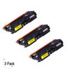 Compatible Brother TN 336 Yellow Toner 3 Pack