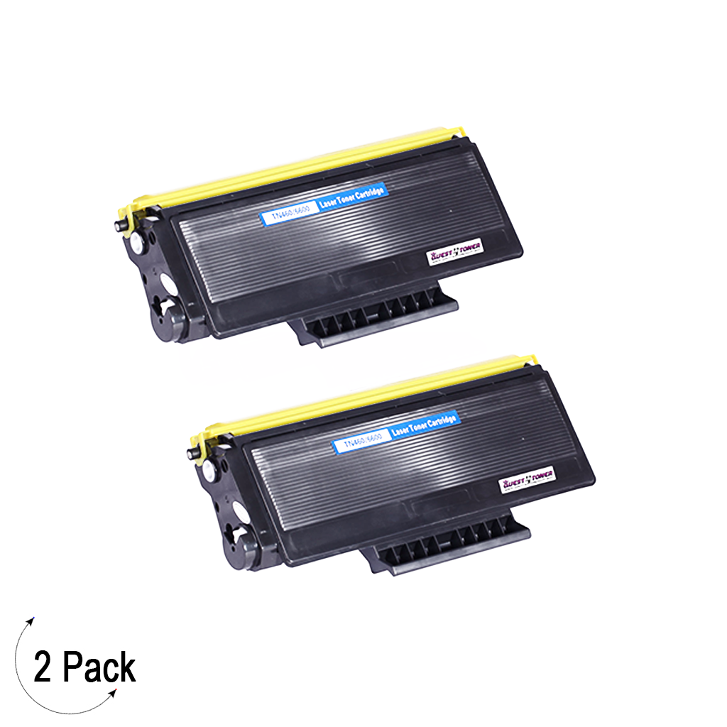 Compatible Brother TN-460 Toner 2 Pack