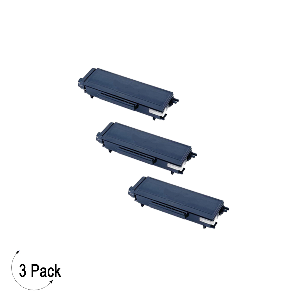 Compatible Brother TN 580 Toner 3 Pack