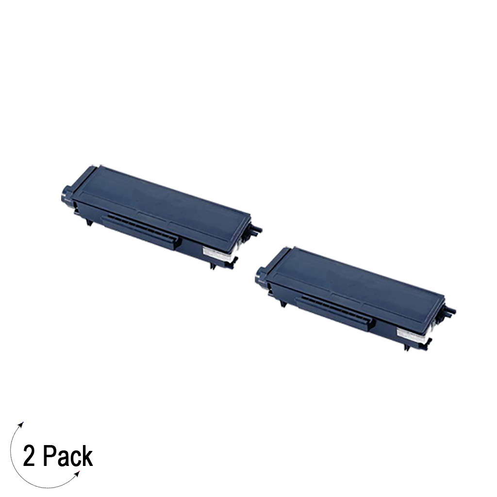 Compatible Brother TN 580 Toner 2 Pack