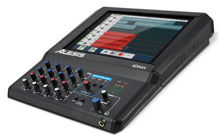 Alesis iO Mix,4-Channel iPad Mixer with 30-Pin Connection/Dock