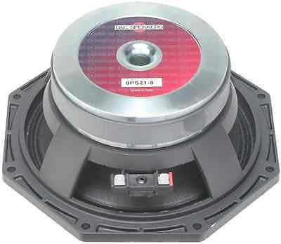 "B&C 8PS21 8"" 400-Watt Woofer , 8-Ohm ( 1pc )"