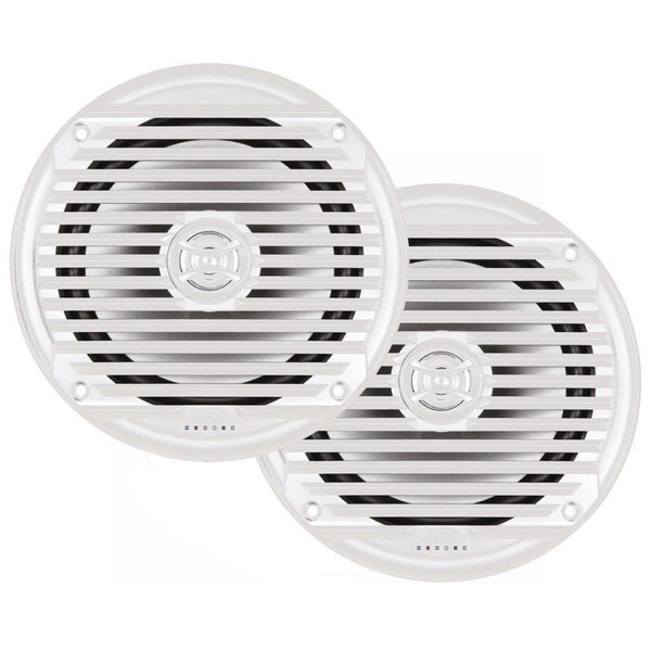 "JENSEN MS6007WR 6.5"" Coaxial Marine Speaker,(Pair) White,MS6007WR"