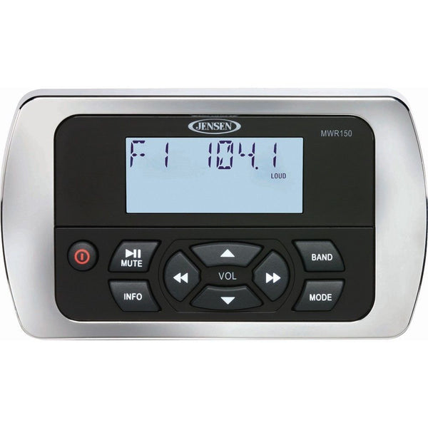 JENSEN MWR150 Full Display Wired Marine Remote Control,MWR150