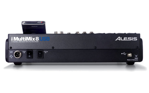 Alesis iMultiMix 8 USB   8-channel Mixer With iPod Dock