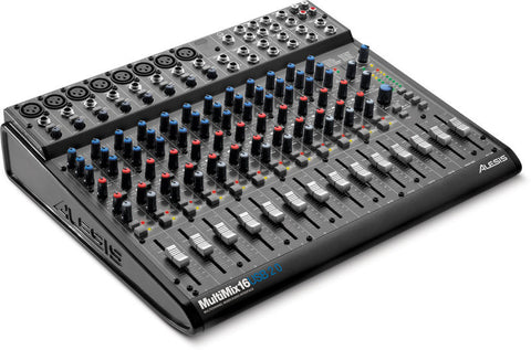 Alesis MultiMix 16 USB-FX 16-channel USB Mixer With Effects and Audio Interface