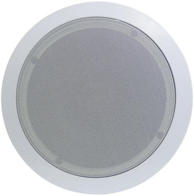 Pyle PDIC81RD In-Wall / In-Ceiling Dual 8-Inch Speaker System, 2-Way, Flush Mount, White (Pair)