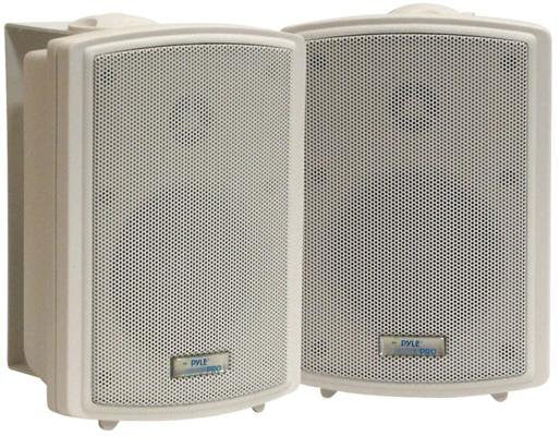"Pyle PDWR33 3.5"" Indoor/Outdoor Waterproof Wall Mount Speakers"