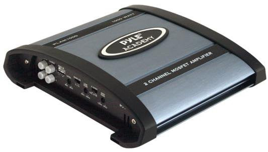 Pyle PLAM1000 1000-watts 2 Channel Bridgeable  Car Amplifier