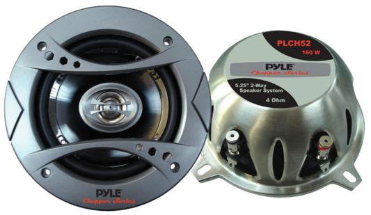 "Pyle PLCH52 5.25"" 160-watt 2-Way Speaker System (Pair)"