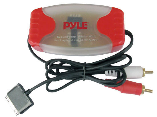 Pyle PLDN38RI Ipod Direct To RCA Stereo Audio Ground Loop Isolator/ Audio Line D