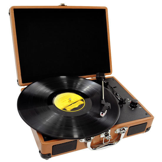 PYLE-HOME PVTT2UWD Retro Belt-Drive Turntable with USB-to-PC Connection