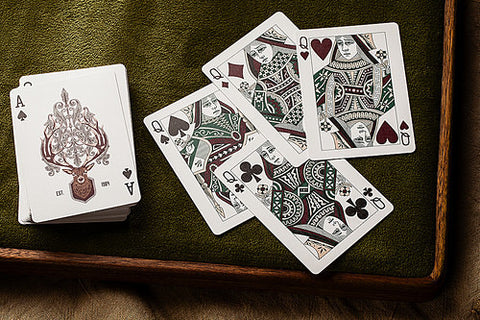 Antler Limited Edition Playing Cards - Packablez.com - Travel Accesories, Gadgets and Gear - 1