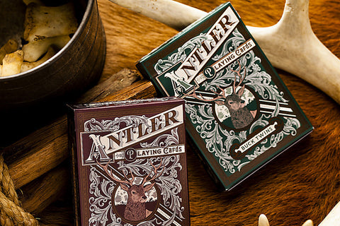 Antler Playing Cards ( Standard Version ) - Packablez.com - Travel Accesories, Gadgets and Gear - 1
