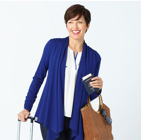 Classic Cardigan Packable Travel Sweater - Packablez.com - Travel Accesories, Gadgets and Gear - 1