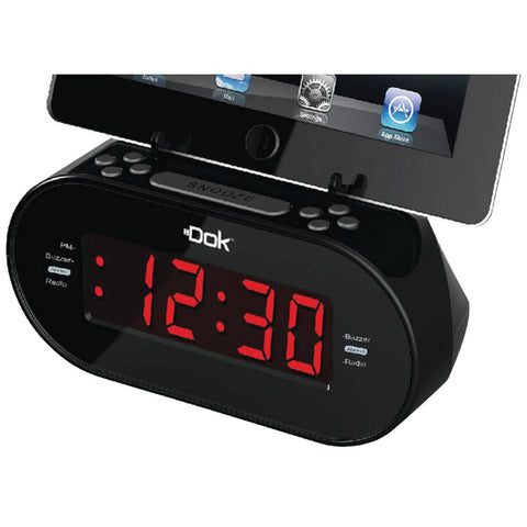 DOK CR07 Alarm Clock with Universal Cradle