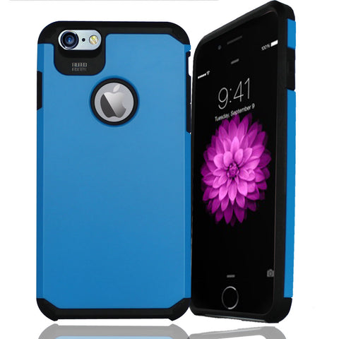 IPhone 6 / 6S Plus TPU Slim Rugged Hard Case Cover Blue