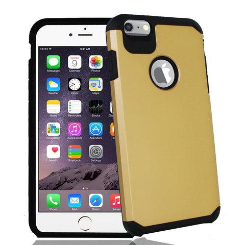 IPhone 6 / 6S Plus TPU Slim Rugged Hard Case Cover Gold